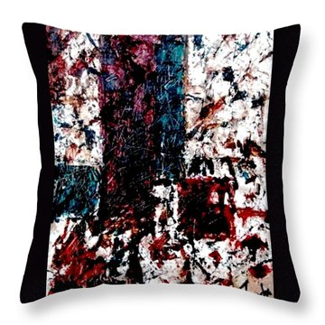 Conversation  Throw Pillow