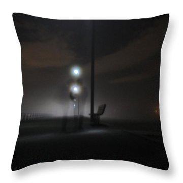 Conversation In The Mist Throw Pillow