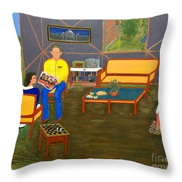 Conversations Collection Throw Pillow