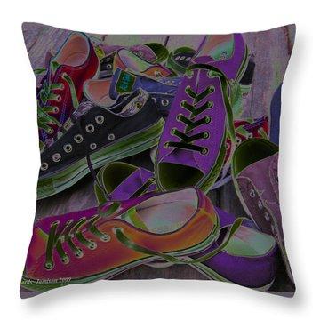 Converse Throw Pillow