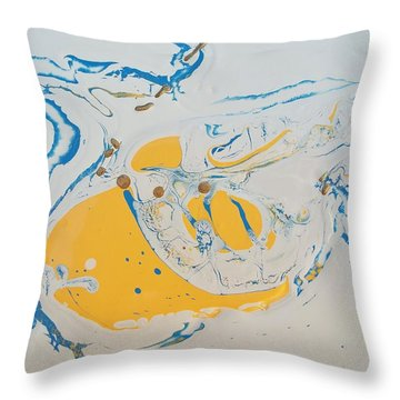 Convertible Flooded In Vegas Throw Pillow