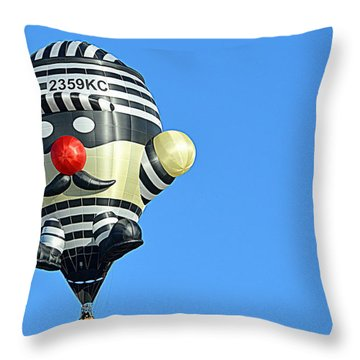 Throw Pillow featuring the photograph Convict by AJ Schibig