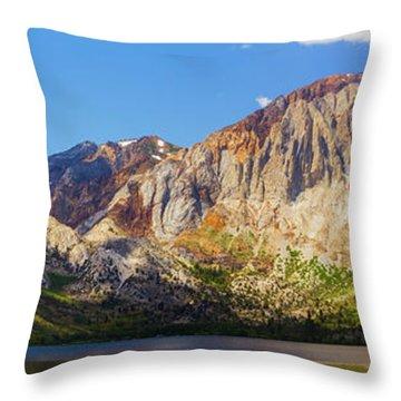 Convict Lake - Mammoth Lakes, California Throw Pillow