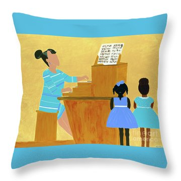 Convocation Throw Pillow