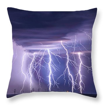 Conway Bolts Throw Pillow