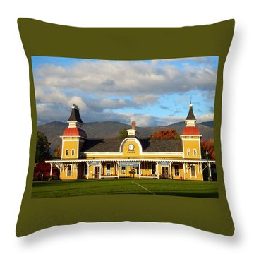 Conway Scenic Railroad 1 Throw Pillow