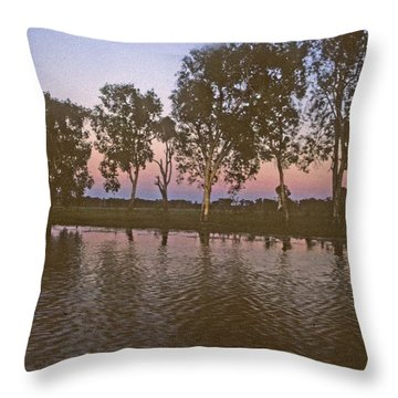 Cooinda Northern Territory Australia Throw Pillow