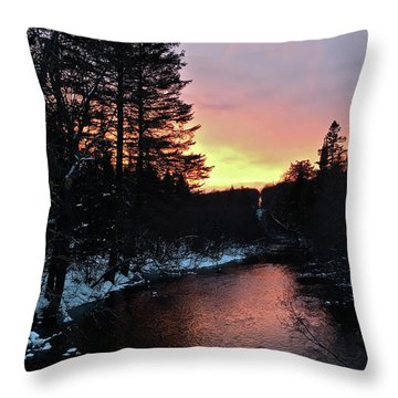 Cook's Run Throw Pillow
