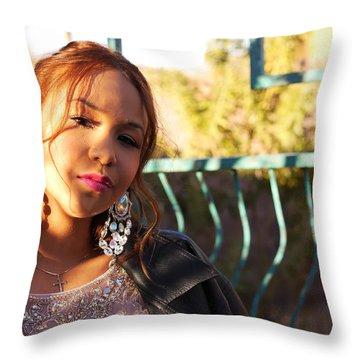 Cool Autum Throw Pillow