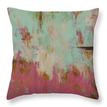 Cool Breeze Throw Pillow by Suzzanna Frank