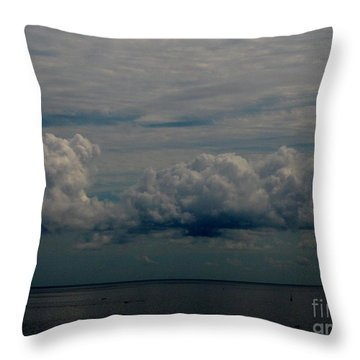 Cool Clouds Throw Pillow