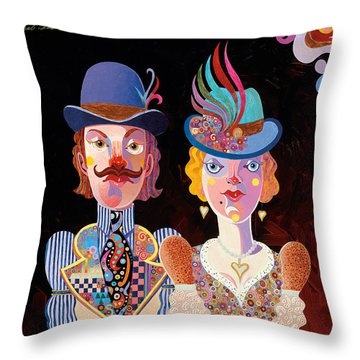 Cool Connections Throw Pillow by Bob Coonts