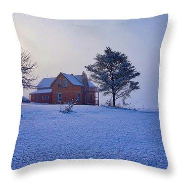 Cool Farm Throw Pillow