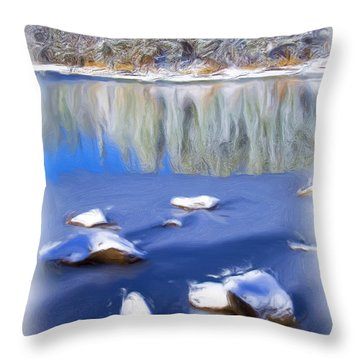 Cool Impression Throw Pillow by Chris Brannen