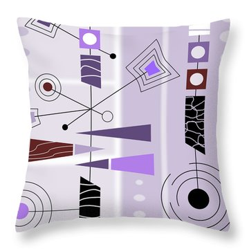 Cool New Purple Throw Pillow