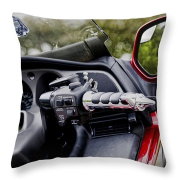 Cool Ride Throw Pillow