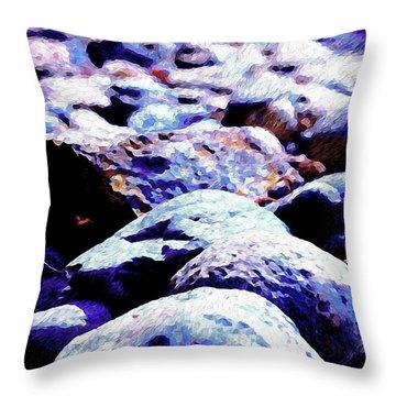Cool Rocks- Throw Pillow