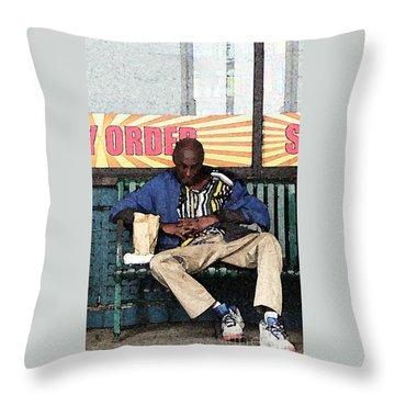 Cool Snap Throw Pillow by Joe Jake Pratt
