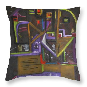 Cool Vibe Throw Pillow