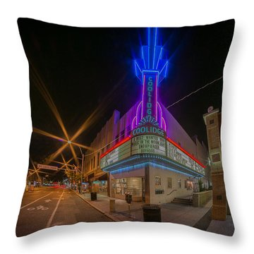 Coolidge Corner  Throw Pillow