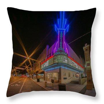 Coolidge Corner  Throw Pillow