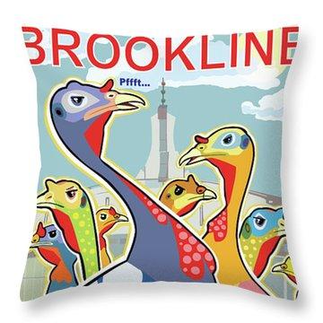 Coolidge Corner Critics Throw Pillow
