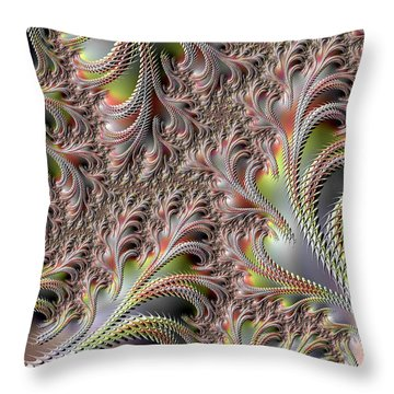 Cooling Fans Throw Pillow