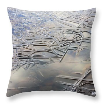 Throw Pillow featuring the photograph Coolness by Mary Amerman