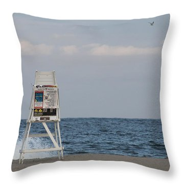 Cools Sands Throw Pillow by Robert Banach
