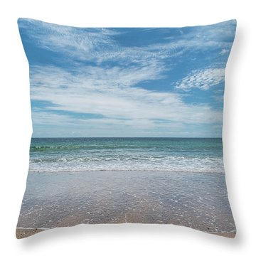 Coonah Waves Throw Pillow