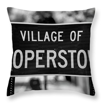 Cooperstown Throw Pillow