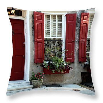 Coordinated In Charleston Throw Pillow
