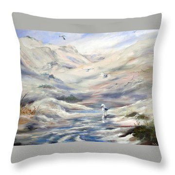 Coorong, South Australia. Throw Pillow