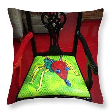 Cootie Catcher Throw Pillow