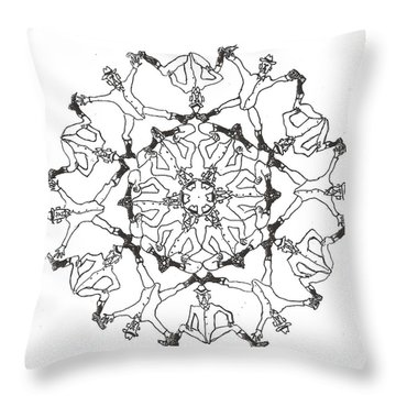 Coots Ala Bugsby Throw Pillow