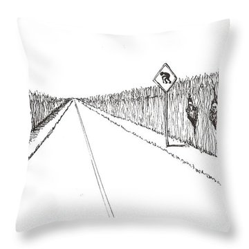Coots Crossing Throw Pillow
