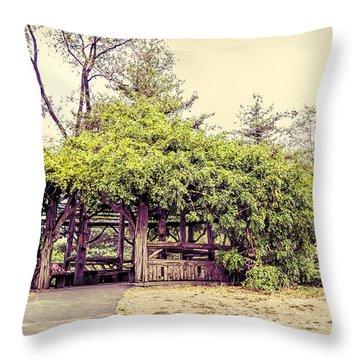 Cop Cot - Central Park Throw Pillow