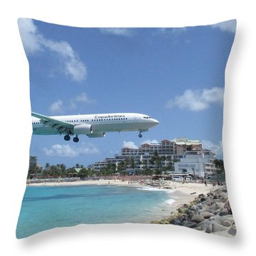 Copa 737 Princess Julianna Throw Pillow
