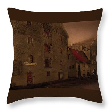 Throw Pillow featuring the photograph Copenhagen-city by Jeff Burgess