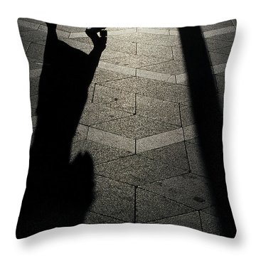 Copenhagen Lady Throw Pillow
