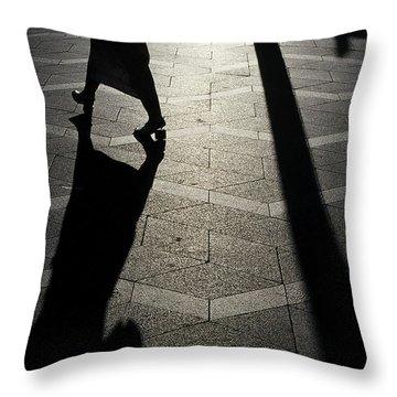 Copenhagen Lady Throw Pillow
