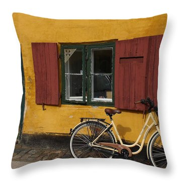 Copenhagen Still Life Throw Pillow