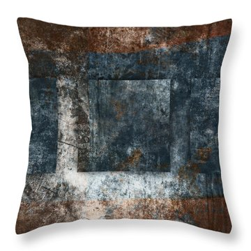 Copper Finish 1 Throw Pillow