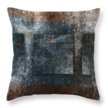 Copper Finish 3 Throw Pillow