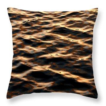 Copper Hills Throw Pillow