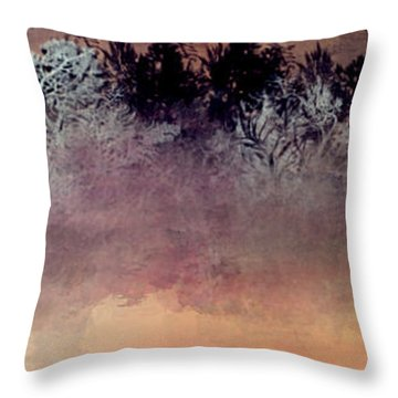 Copper Lake Throw Pillow by Jessica Wright