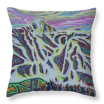 Copper Mountain Throw Pillow by Robert SORENSEN