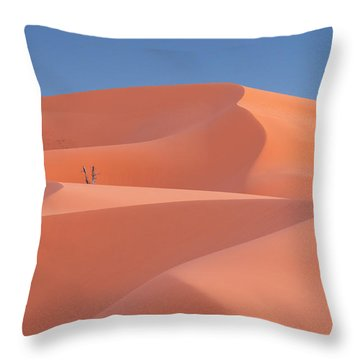 Throw Pillow featuring the photograph Coral by Dustin LeFevre