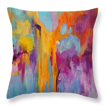Coral Fanstasy Throw Pillow