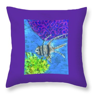 Coral Reef Throw Pillow